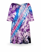 CLEARANCE! Morning Glory Tie Dye Plus Size & Supersize X-Long T-Shirt 6x
