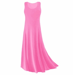 CLEARANCE! Pink Slinky Plus Size & Supersize Tank Dress 2x 3x