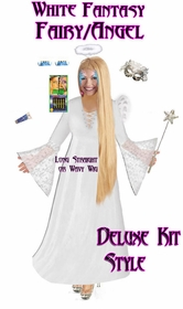 Sale! Plus Size Fairy Costume - Plus Size Angel Costume Supersize Light Fairy Angel Costume + Accessory Kit! Lg to 9x