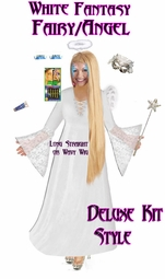 SALE! Plus Size Fairy Costume - Plus Size Angel Costume Supersize Light Fairy Angel Costume + Accessory Kit! Lg XL 1x 2x 3x 4x 5x 6x 7x 8x 9x