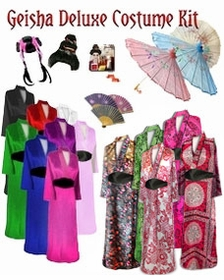 SALE! Beautiful Geisha Costume Plus Size & Supersize 0x 1x 2x 3x 4x 5x 6x 7x 8x 9x