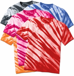SALE! Plus Size Short Sleeve Lines Tie Dye T-Shirts XL 2x 3x 4x 5x 6x