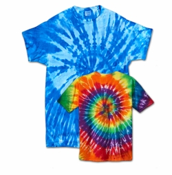 SALE! Plus Size Short Sleeve Swirl Tie Dye T-Shirts XL 2x 3x  4x 5x 6x