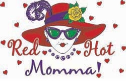 SALE! Red Hat Momma! Plus Size & Supersize T-Shirts S M L XL 2x 3x 4x 5x 6x 7x 8x (Lights Only)
