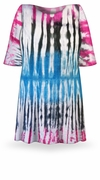 CLEARANCE! Seismic Ombre Tie Dye Plus Size T-Shirt 2xl 5xl