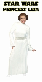 SALE! Star Wars Princess Leia Plus Size And Supersize Halloween Costume + Add Accessories! Size 2xT