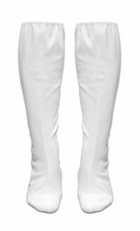 SALE! White Plus Size Boot Covers