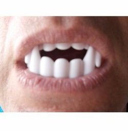 SALE! White Vampire Fangs