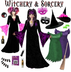Sexy Witch & Sorceress Plus Size Costumes