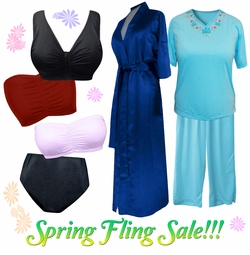 Spring Fling Plus Size Sleepwear & Intimates on Sale!