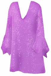SALE! Stunning Lavender Glimmer Plus Size Supersize Shirt 1x