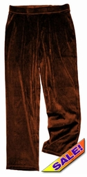 SALE! Yummy Soft Dark Brown Velvety Velour Plus Size Pull-On Pants Sizes 1x 2x