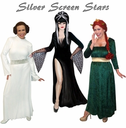 Stars of the Silver Screen! Plus Size Costumes