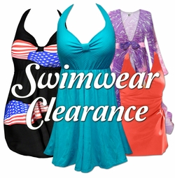 Swimwear & Coverups on CLEARANCE!