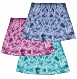 SALE! Tie Dye Skirt & Swimsuit Coverup 0x to 8x