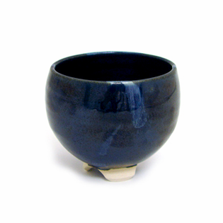 Incense Bowl: Glazed Ceramic-Cosmos