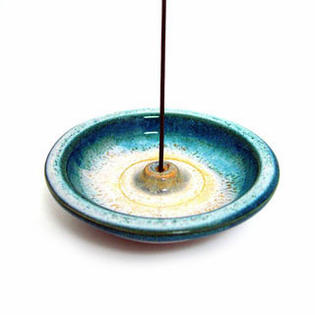 Incense Holder-Ocean Blue-   New!