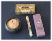 Japanese Incense Sticks & Bowl Kit