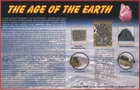 Age of the Earth Geological Display
