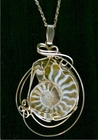 Ammonite Fossil Jewelry 14k Gold