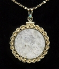 "Anorthosite ""Moon"" 14k Gold Jewelry"