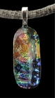 """Atmospheres of Jupiter"" - Diachroic Glass Pendant"
