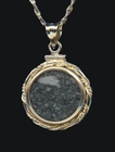 Famous Allende Meteorite Pendant Jewelry - Sold
