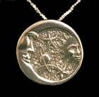 Heavenly Bodies Sterling Silver Pendant