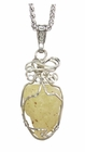 Libyan Desert Glass Jewelry For Sale - Sterling Silver