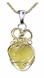 Libyan Desert Glass Jewelry Sterling Silver for Sale