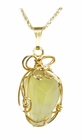 Libyan Desert Glass Jewelry 14k Gold