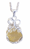 Libyan Desert Glass Jewelry Sterling Silver - New!