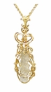 Lightning Sand Fulgurite Jewelry 14k Gold