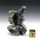"Lightning Sand Fulgurite  ""Gray Ghost Chard"" - Sold!"