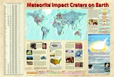 Meteorite Impact Craters on Earth Poster - Under Revision 2017