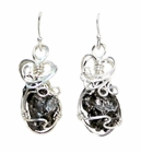 Meteorite Jewelry Earrings