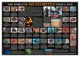 Meteorites: A-Z Poster