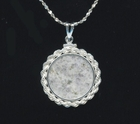 """Moon Pendant "" - Sterling Silver"