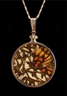 "Authentic ""Mosiac"" Butterfly Wing Jewelry"
