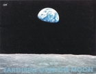 NASA Earthrise From Moon Science Poster