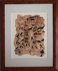 Petroglyph Rock Art for Sale Reproduction - Sold!