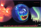 Solar Flare and Earth's Magnetosphere Poster