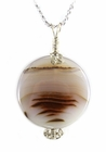 "The ""Surface of Mars"" Sardonyx Pendant"