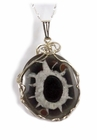 """The Turtle"" Agate Sky Walker  - Sterling Silver"