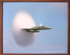 Through the Sound Barrier Walnut Frame