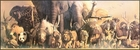 Wild Animal Panorama Poster - Giant