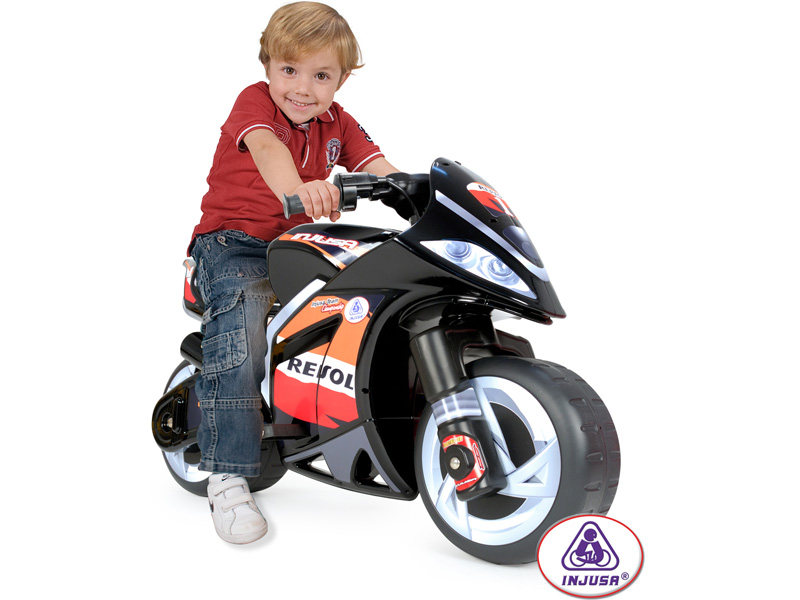 Kids Injusa Repsol Wind Motorcycle 6V