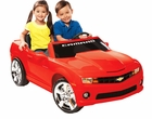 Chevrolet Camaro 12v 2 Seater Kids Ride-on Car by NPL