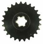 Drive sprocket, Front 25 tooth #25 chain (127-8)