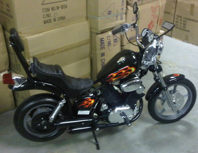 Kids Electric Motorcycle 52011 Harley Style Electric